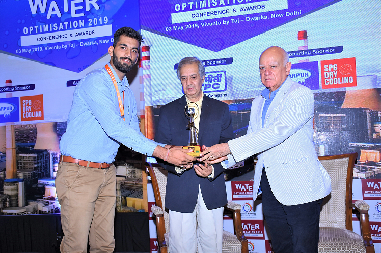 HINDUSTAN ZINC RECEIVES WATER OPTIMIZATION CONFERENCE & AWARD 2019
