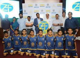 Zinc Football Academy kids overwhelm Hindustan Zinc Corporate teams