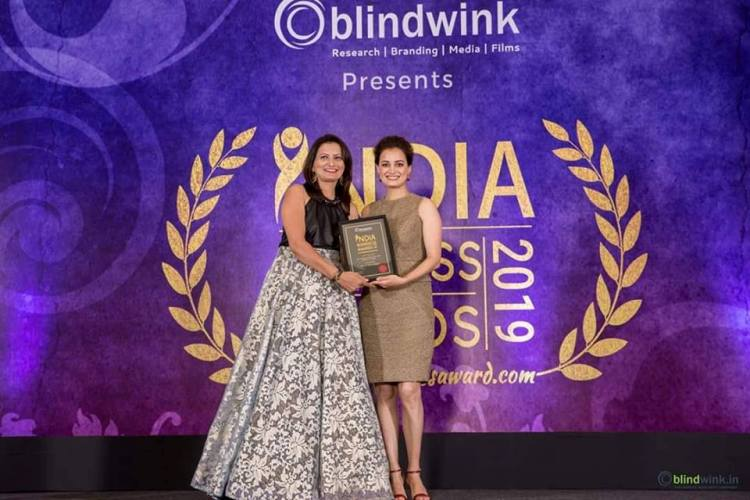 Supriya Sharma got India Business Award 2019