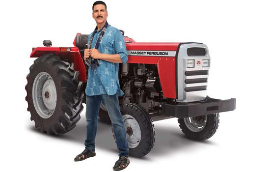 TAFE signs on Akshay Kumar as the brand ambassador for Massey Ferguson tractors