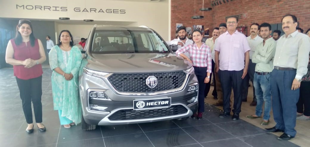 MG Motor India inaugurates its first showroom in Udaipur