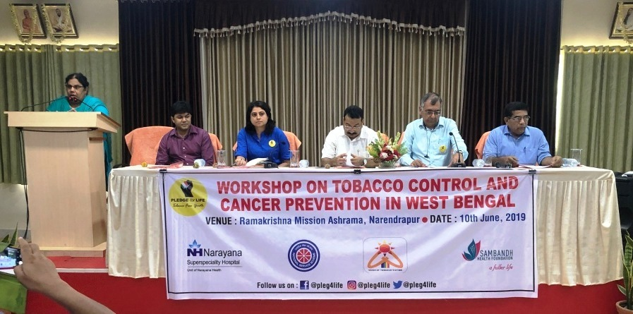 West Bengal NSS launches 'Pledge for Life-Tobacco Free Youth' campaign