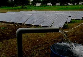 Floats tender for 300 solar water pumps