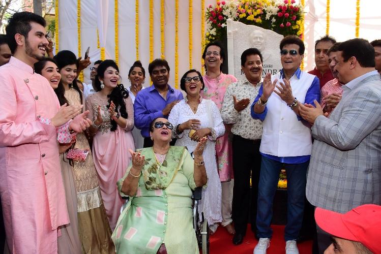 Celebs Unveil Padmashree Mahendra Kapoor Chowk