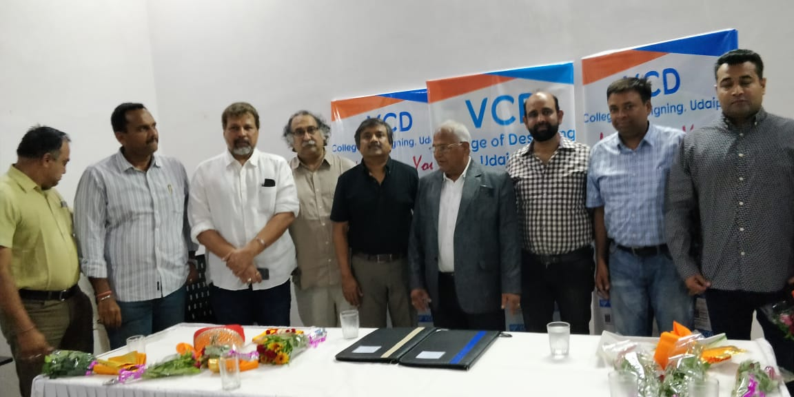 VCD College of Desiggning, Udaipur and IIID, India SignedMoU