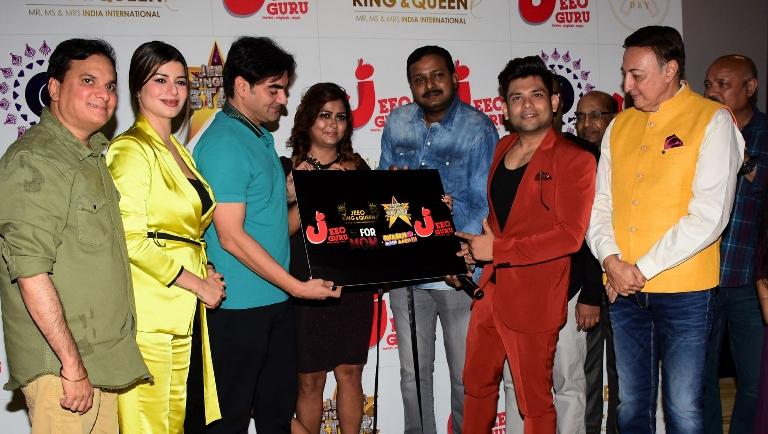 Arbaaz Khan, LalitPandit, KainaatArora and Stars Launch Jeeoguru App