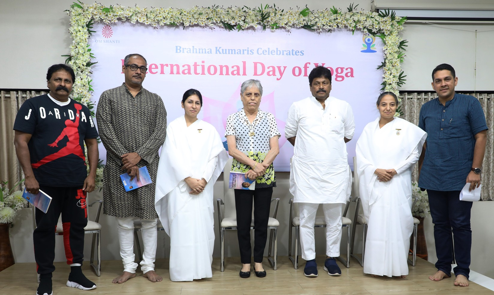 Brahma Kumaris celebrated 'International Yoga Day' with martial art expert Chitah Yajnesh Shetty