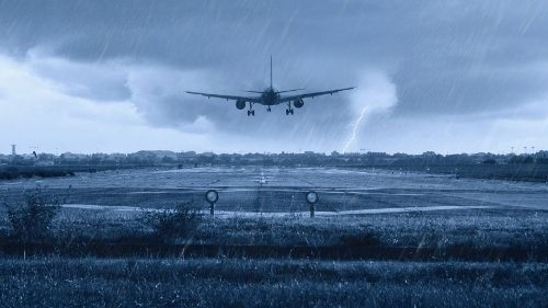 Bad weather affects flights from Udaipur