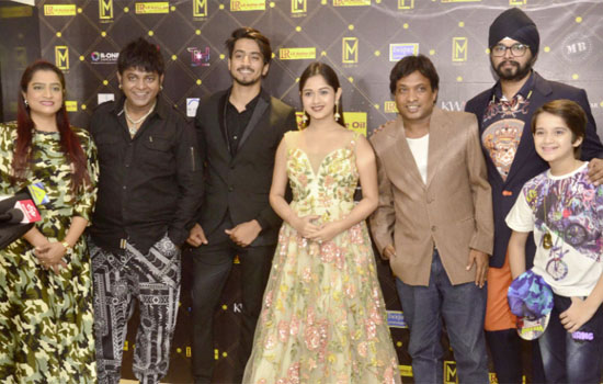 Film and TV stars came to attend 1st Celeb M Awards