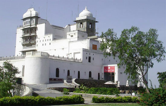 Nature interpretation center and tribal museum at Sajjangarh fort