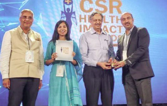 Hindustan Zinc receives the CSR Health Impact award