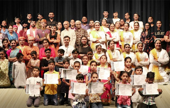 Taraash 2019 concluded with Kathak and Theatrical Performances