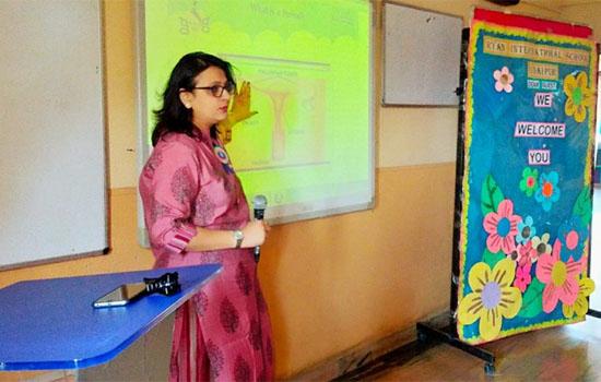Ryan conducted a workshop on Handling Teenage