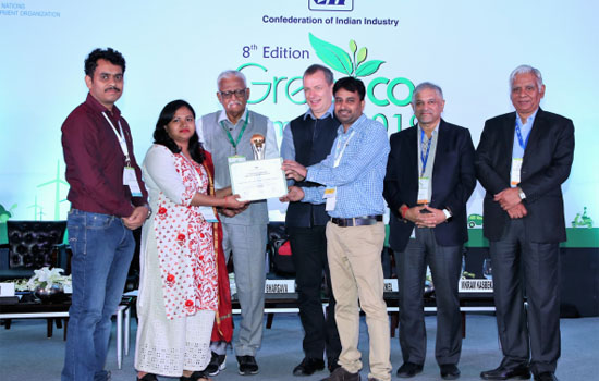 HINDUSTAN ZINC RECEIVES  6th CII ENVIRONMENTAL BEST PRACTICES AWARD 2019