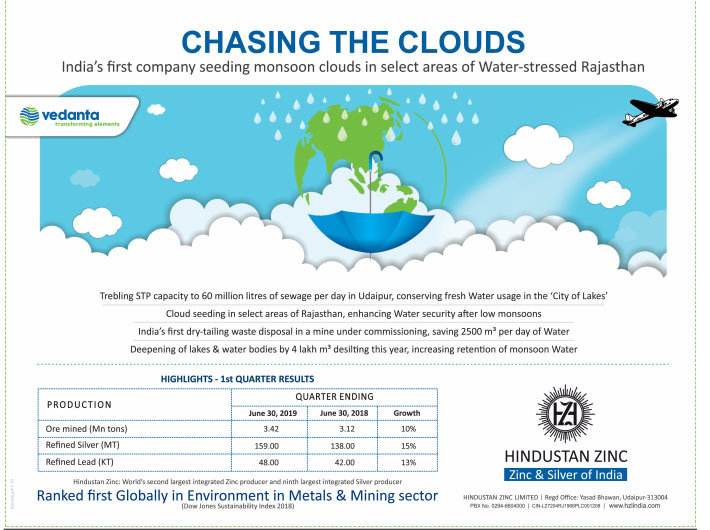 Vedanta: Chasing the Clouds