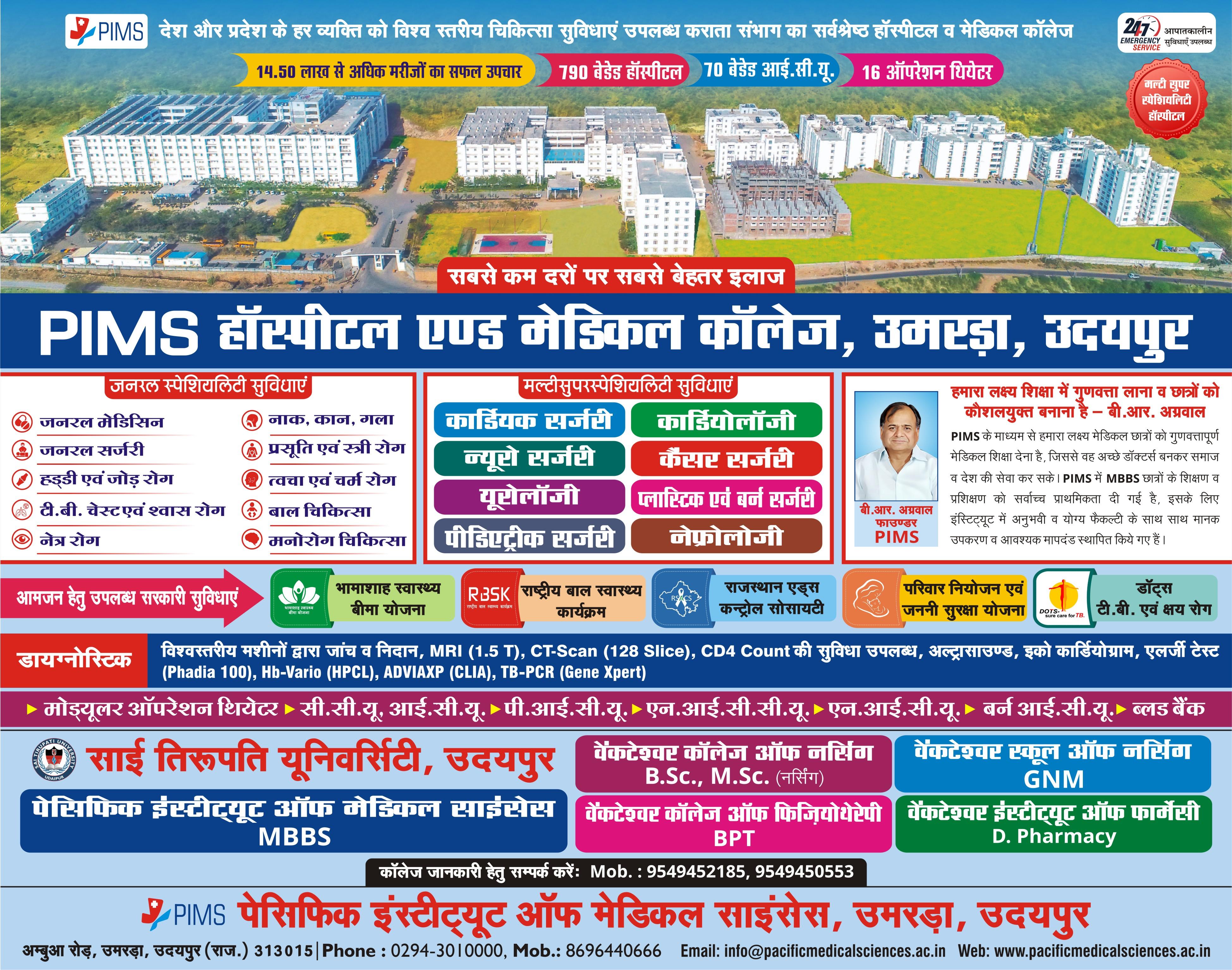 Advertisement PIMS