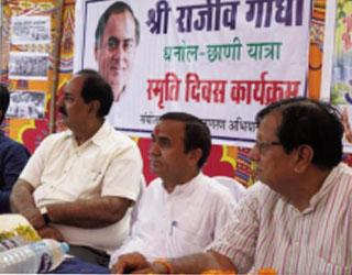 Rajeev's Dhanol Yatra Memorial Day at Dhanol Chhani