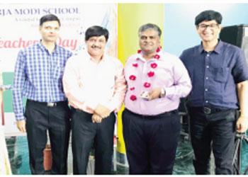 Teachers' Day celebrated in Neerja Modi Schoo