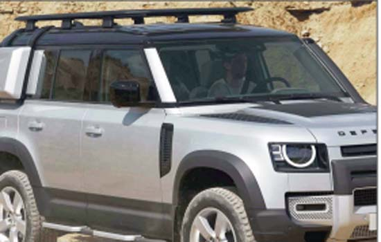 INTRODUCING THE NEW LAND Gaydon , This is the new ROVER DEFENDER