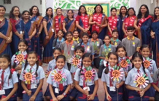 Hindi Day Celebration in C.P.S.