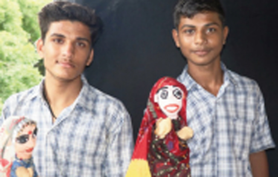 Puppet workshop concludes