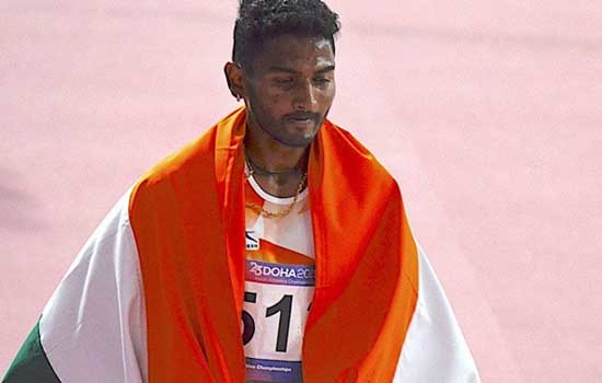 Avinash Sable qualifies for Tokyo Olympics in men's 3,000 m steeplechase event
