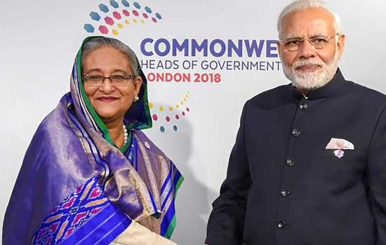 PM Modi to hold bilateral talks with Bangladesh PM Sheikh Hasina this morning