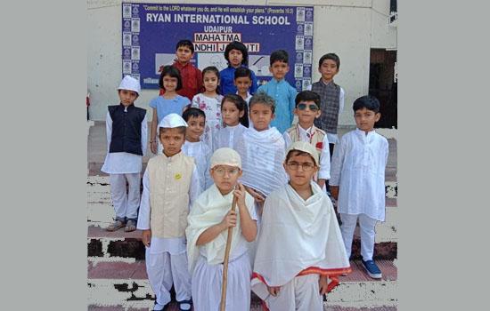 Ryan Celebrated Mahatma Gandhi & Lal Bhadur Shashtri Jayanti
