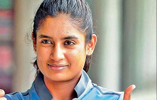 Mithali Raj becomes 1st female player to complete 20 yrs in international cricket