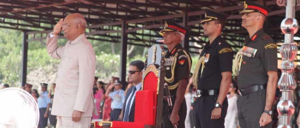 President Kovind presents prestigious Colours to Army Aviation Corps