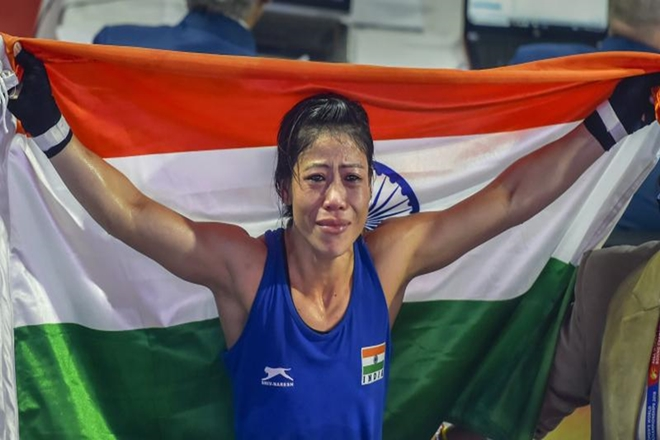 MC Mary Kom settles for bronze in World Women's Boxing Championships