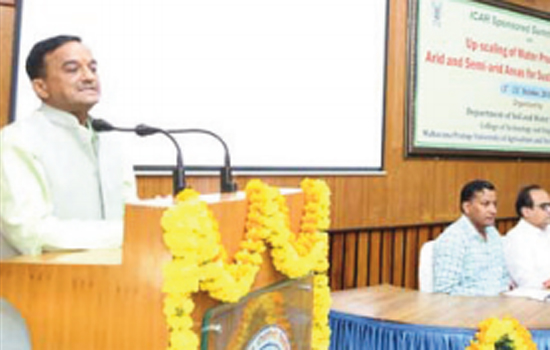 Conclave for sustainable agriculture arid and semi-arid areas