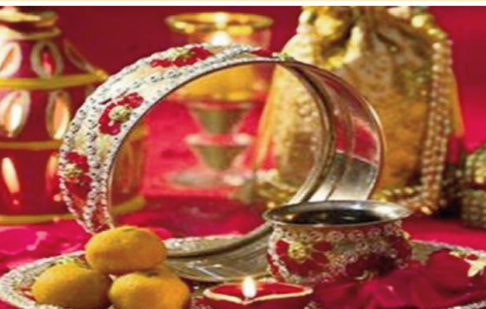 The destination for your KarwaChauth look and mehandi