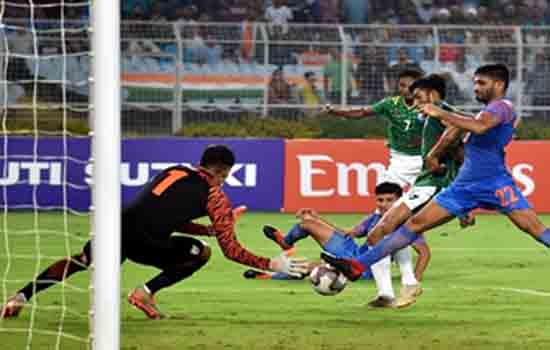 FIFA World Cup qualifier match between India & Bangladesh ends in draw
