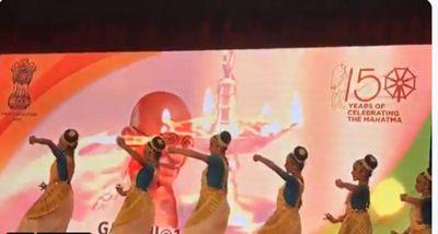 Indian artists perform Mahatama Gandhi's favourite Bhajan in Sharjah