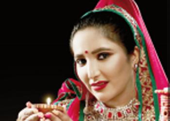 Actress Kressy Singh photoshoot for Diwali