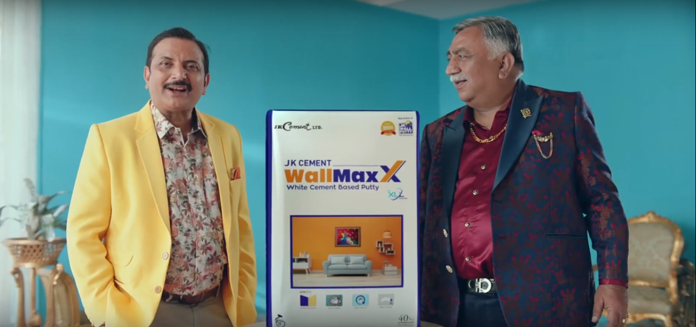 JK Cement re-launches its iconic brand JK Wall Putty