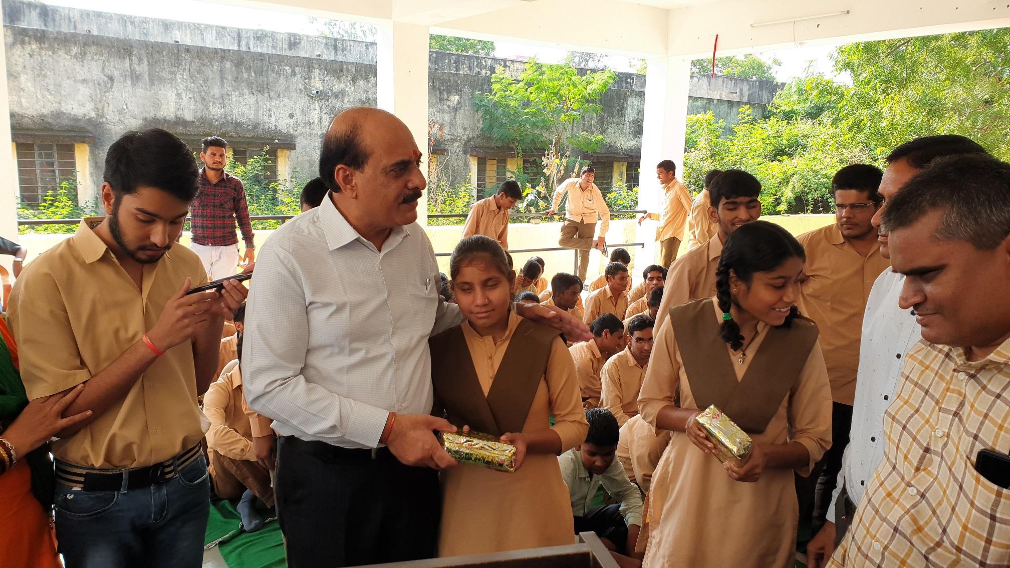 Hindustan Zinc CEO celebrates a special Children's Day