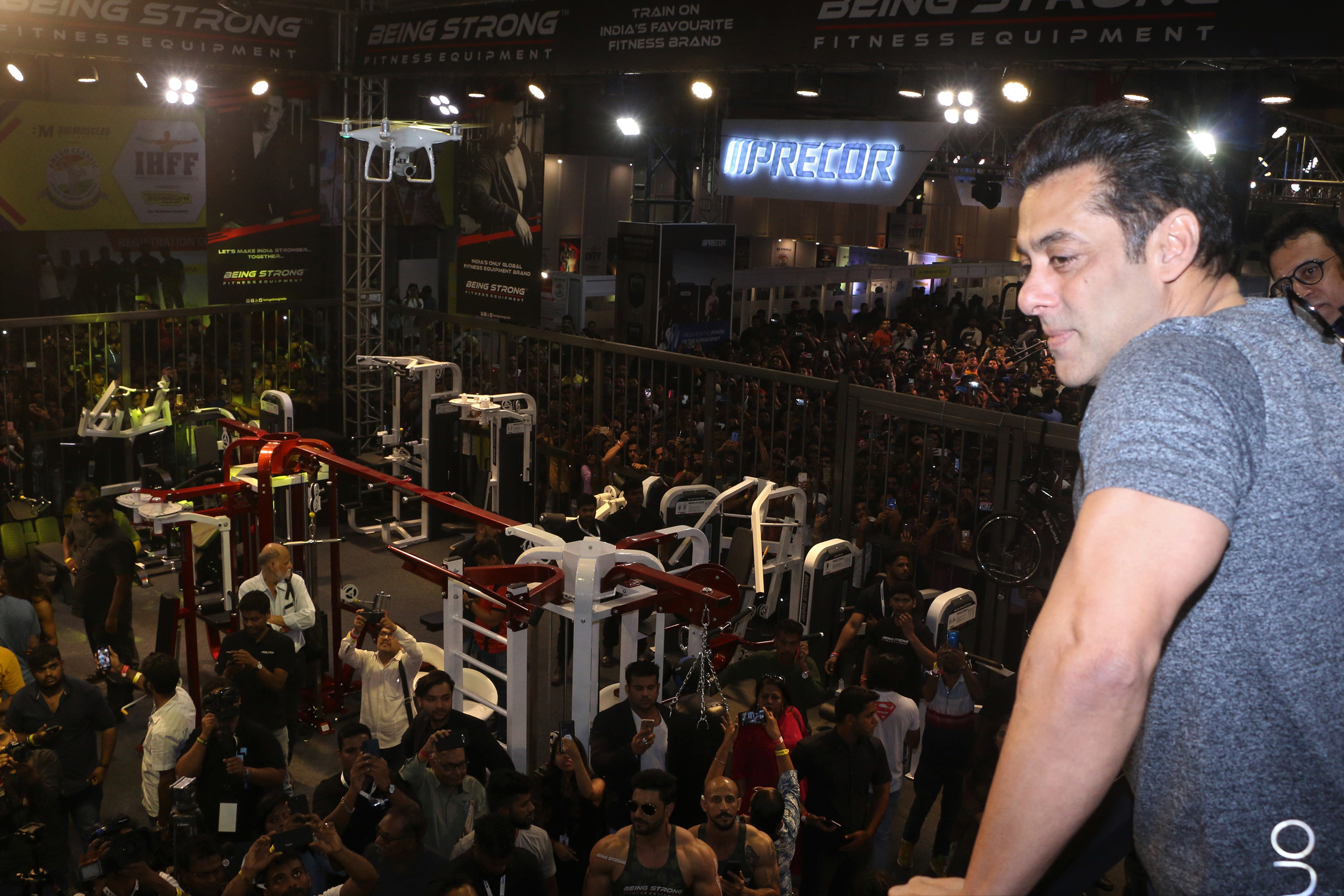 Being Strong's Equipment to be showcased at Fitness Exhibition in Mumbai