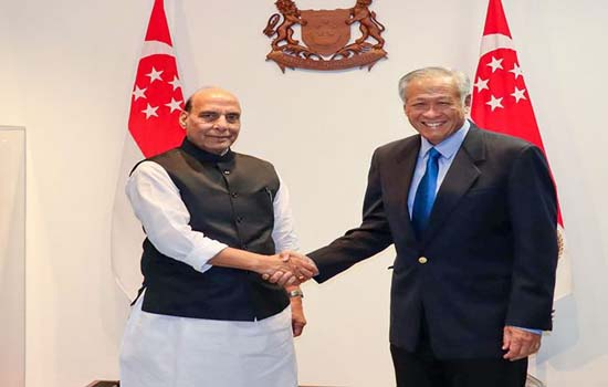 India, Singapore express satisfaction over defence ties