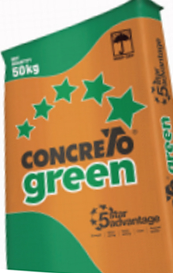Concreto Green – A High Performance Cement