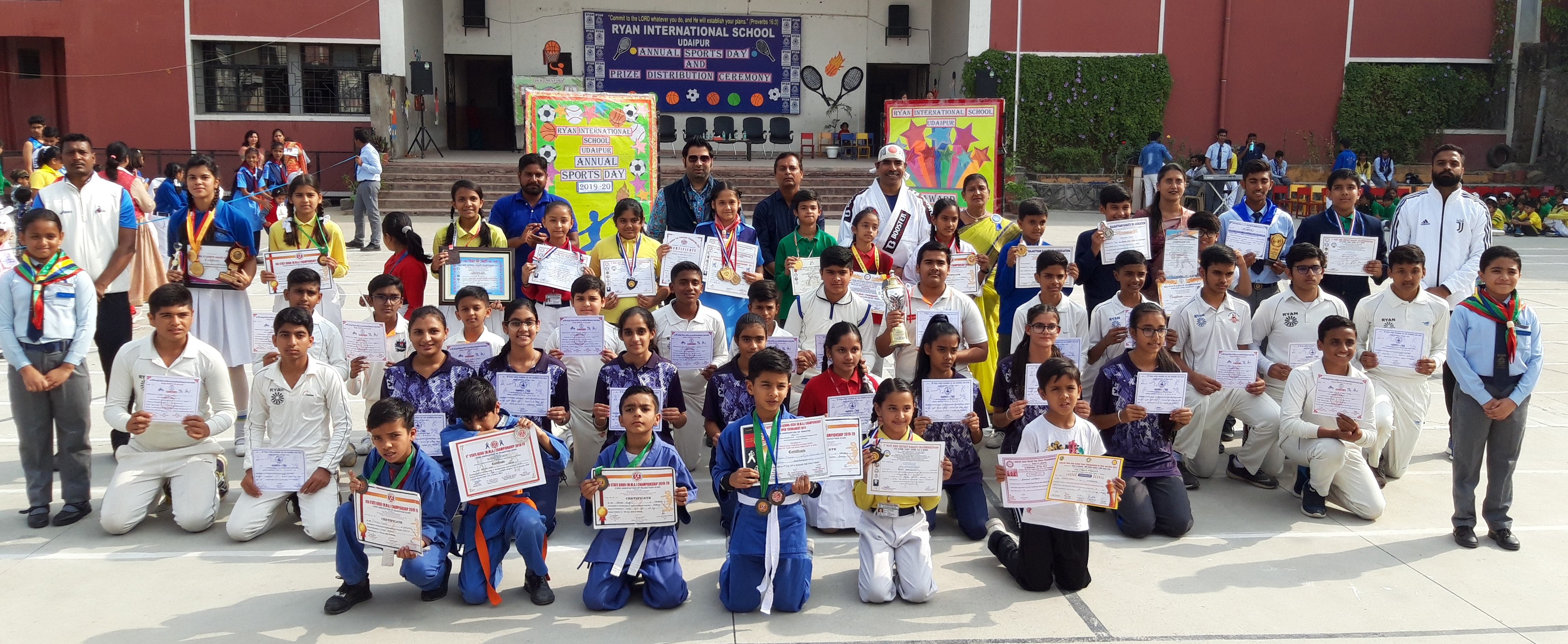 Ryan International School, Udaipur celebrated its Annual Sports Meet for Primary Wing -2019