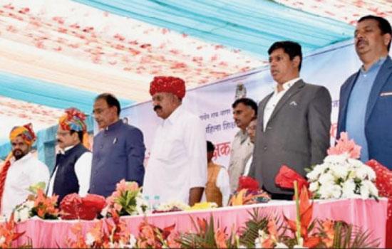 Demands for development of Hatundi and women college raised by Kul Pramukh and Chancellor Bhanwar Lal Gurjar : Minister