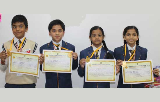 Selection of MMVM'sParidhi Sethi and other students at the state level