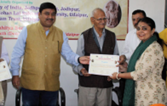 Concluding National Workshop on Indian Idol Art under World Heritage Week