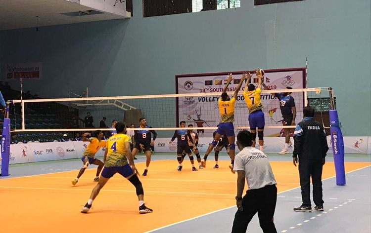 13th South Asian Games: Indian men's volleyball team enter final; Beating Sri Lanka 3-1 in Semis
