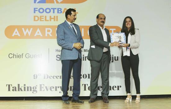 Zinc Football awarded Best Grassroots Football Programme of the Year