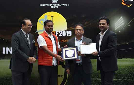VEDANTA BAGS PRESTIGIOUS 'BEST ORGANISATION CONTRIBUTING IN SPORTS' AWARD AT FICCI INDIA SPORTS AWARDS